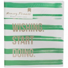 Álbum - American Crafts Memory Planner Binder  Stripes