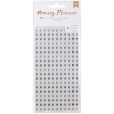 Adesivo de número - American Crafts Memory Planner Date Stickers