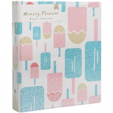 Álbum - American Crafts Memory Planner Binder  Popsicles