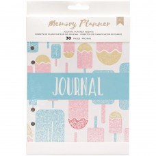 Refil planner - American Crafts Memory Planner Inserts Journal