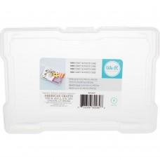 Caixa de organização - We R Craft & Photo Translucent Plastic Storage