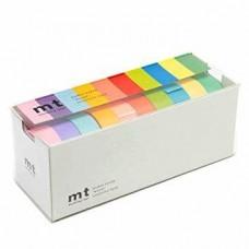 Washi tape - MT Washi Masking Tapes, Set of 10, Bright Colors