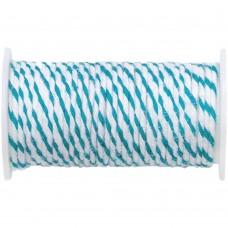 Arame Twine  - We R Memory Keepers Happy Jig Baker's Twine Wire 3yds Robin's Blue