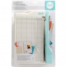 Cortador de papel Guilhotina - We R Memory Keepers Mini Guillotine Paper Cutter