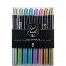 Caneta  - Kelly Creates Metallic Jewel Brush Pens