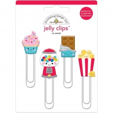 Clips  - Doodlebug Jelly Clips 4/Pkg So Sweet