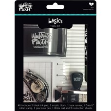 Kit de carimbar - Illustrated Faith Basics Tool Kit