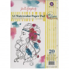Bloco de Papel para Aquarela - Prima Watercolor Paper Pad A4