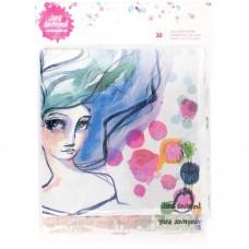 Guardanapos - Jane Davenport Mixed Media 2 Napkin Collage Paper