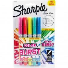 Caneta Permanente - Sharpie Color Burst Ultra Fine Permanent Markers