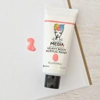 Tinta acrílica - Dina Wakley Media Heavy Body Acrylic Paint  Blushing