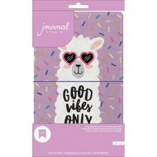 Diário de viagem - American Crafts Journal Studio Kit Llama