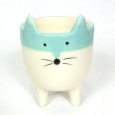 Vaso raposinha - Azul
