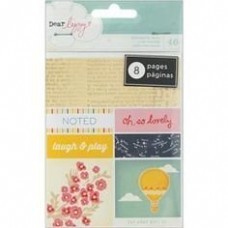 Adesivos - Dear Lizzy Lucky Charm Bits Perforated Book