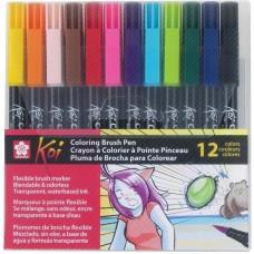 Caneta - Koi Coloring Brush Pens Assorted