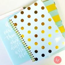 Caderno - Dear Lizzy Fine & Dandy Spiral Bound 52 Week Journal