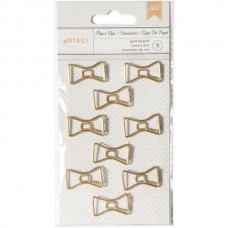 Clips - Designer Desktop Essentials Paper Clips  Bowtie