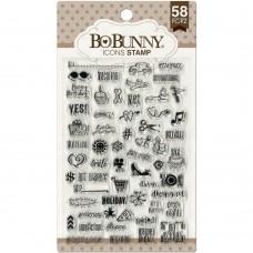 Carimbo - BoBunny Stamps Icons