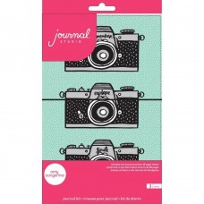 Diário de viagem - American Crafts Journal Studio Kit Camera By Amy Tangerine