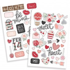 Adesivo - Kissing Booth Puffy Stickers