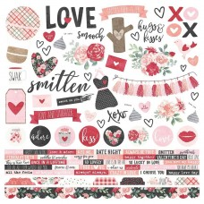 Adesivo - Kissing Booth Cardstock Stickers
