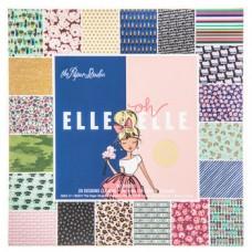 Bloco de Papel - Elle Oh Elle Foil Paper Pack