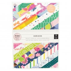 Bloco de Papel - Pink Paislee Single-Sided Paper Pad  Paige Evans Horizon