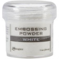 Pó de emboss -  Embossing Powder White