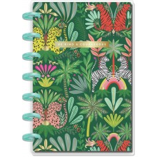 Caderno de disco - Happy Planner Mini Notebook  Sheets Jungle Vibes