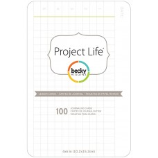 Cards - Project Life Cards 100/Pkg Ledger