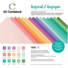 Cardstock - Variety Pack tropical