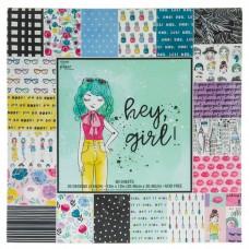 Bloco de Papel - Hey Girl Paper Pack