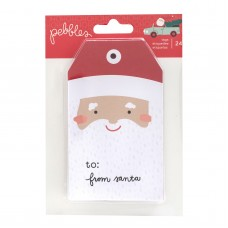 Enfeite - Merry Little Christmas Cardstock Tags