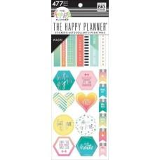 Washi tape - Happy Planner Washi Sticker Book Fitness