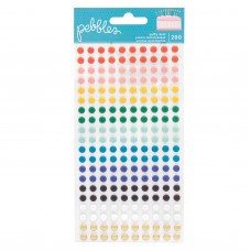 Enfeite - Happy Cake Day Puffy Dot Stickers 200/Pkg