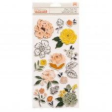 Adesivo - Fresh Bouquet Thickers Stickers  Bouquet Accent/Foam