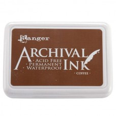 Carimbeira - Ranger Archival Ink Pad Coffee