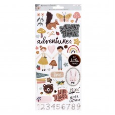 Adesivo - Magical Forest Cardstock Stickers 82/Pkg W/Copper Accents