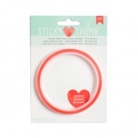 Cola dupla face - Sticky Thumb Double-Sided Super Sticky Red Tape 6mm