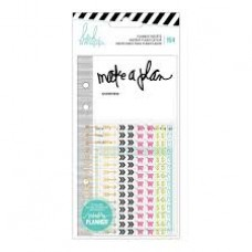 Refil - Heidi Swapp Memory Planner Inserts With Stickers Events