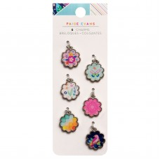 Pingente - Paige Evans Go The Scenic Route Charms 6/Pkg