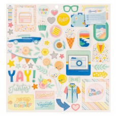 Adesivo chipboard - Obed Marshall Buenos Dias Chipboard Stickers