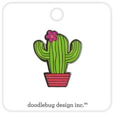 Flea Market Collectible Enamel Pin Cactus