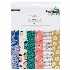 Bloco de papel de presente - Maggie Holmes Willow Lane Gift Wrap Book