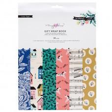 Bloco de papel de presente - Maggie Holmes Willow Lane Gift Wrap Book
