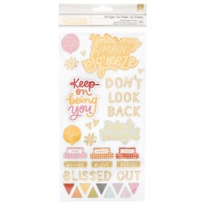 Adesivo - Dear Lizzy It's All Good Thickers Stickers Be Bright