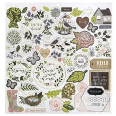 Adesivo chipboard - Jen Hadfield Heart of Home Chipbaord