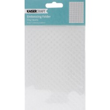 Placa de emboss - Kaisercraft Embossing Folder Dots