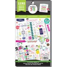 Adesivo - Happy Planner Sticker Value Pack Teacher- BIG
