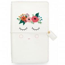 Diário de viagem - Color Crush Traveler's Notebook Planner Sweet Caroline